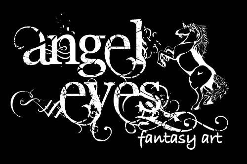 ANGEL EYES FANTASY ART